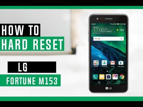 How To Hard Reset LG Fortune M153 Cricket - Swopsmart