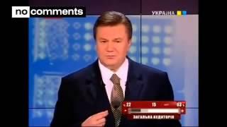 Янукович приколы  Сборник избранное ляпы  Царь барон13ч