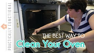 How To Clean The Inside Of Your Stove – The Best Way Is With Ammonia – No Scrubbing!