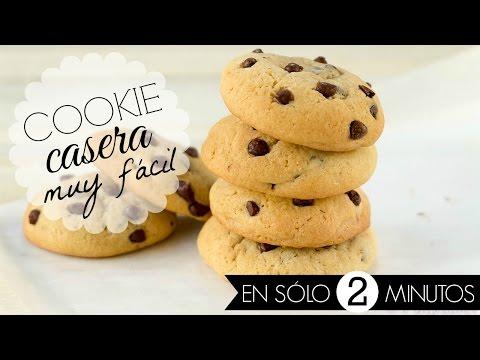 COOKIES EN SOLO 2 MINUTOS (muy fácil) - Neni ♥