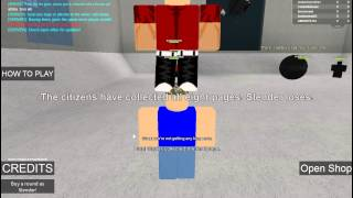kcc plays roblox part 2. slenderman makes me pee my pants!