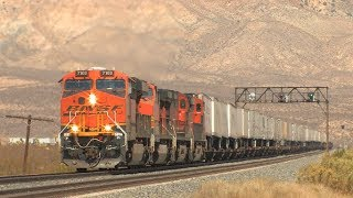HD: Tehachapi Railfanning in September 2013