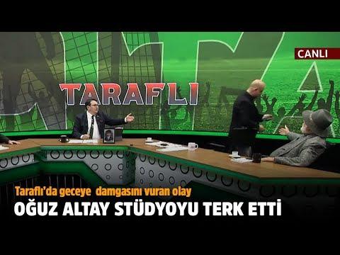 Alen Markaryan Ile Tartışan Oğuz Altay Stüdyoyu Terk Etti - Tv100