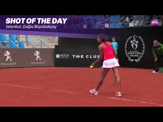 2017 Istanbul Cup Day 3 | Shot of the Day | Cagla Buyukakcay
