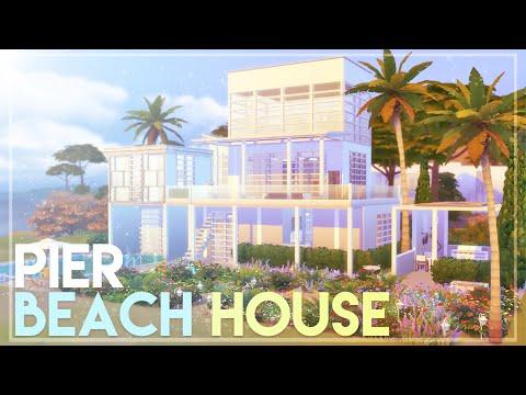 The Sims 4: Speed Build | Pier Beach House