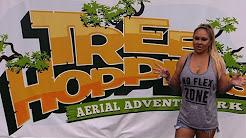 TreeHoppers Aerial Adventure Park Dade City Florida! Zipline