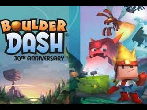 Boulder Dash 30th Anniversary Gameplay Trailer IOS / Android