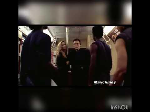The king of new York - train scene