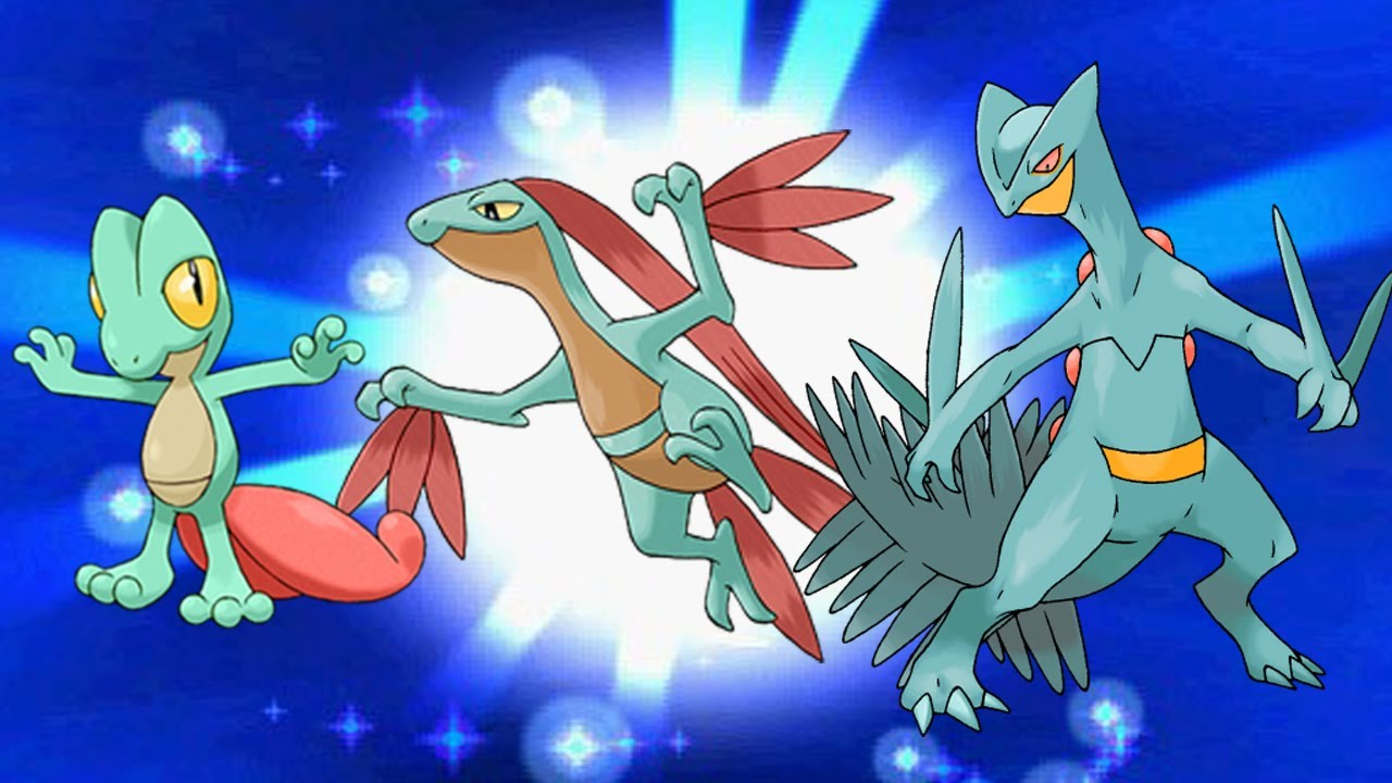Shiny Treecko evolutions! Pokémon X and Y - YouTube