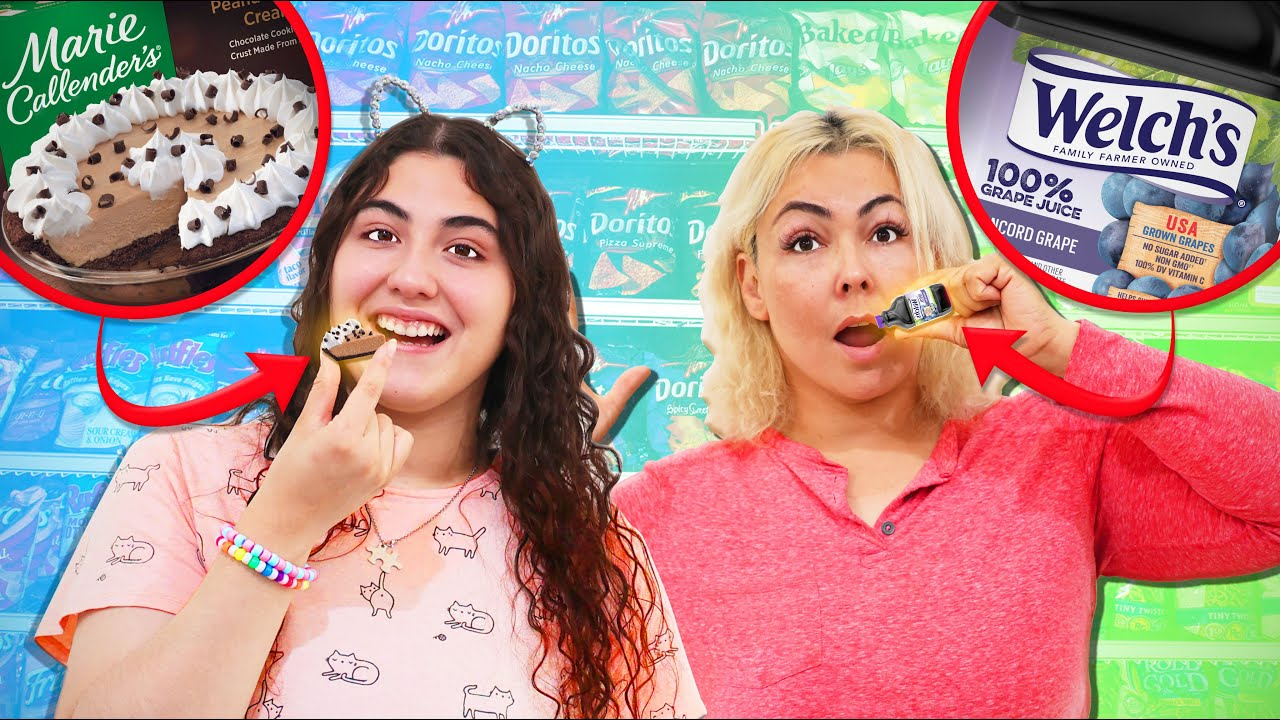WE ONLY ATE MINI BRAND PORTIONS FOR 24 HOURS