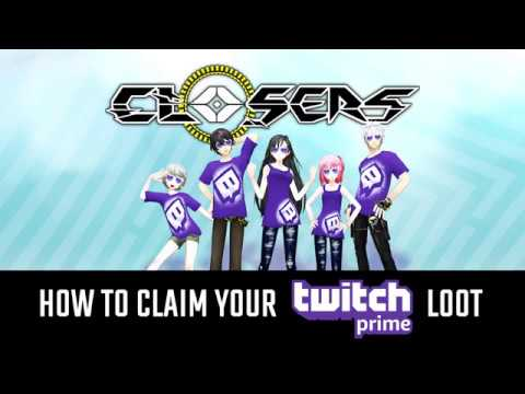 How To Redeem Twitch Prime X Closers Loot