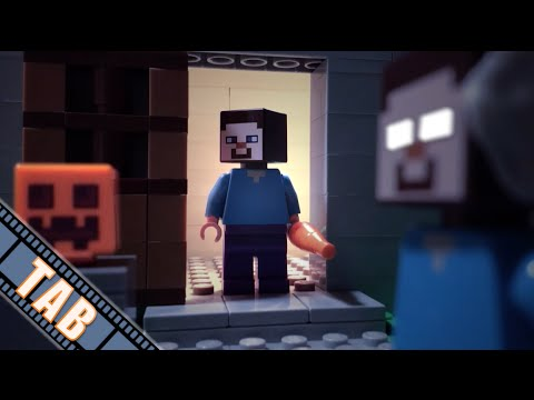 LEGO Minecraft: The Unpopular Tale Of Herobrine (Stop-Motion Animation)