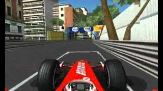 F1 2007 GamePlay PC, Circuit de Monaco, (Ferrari)