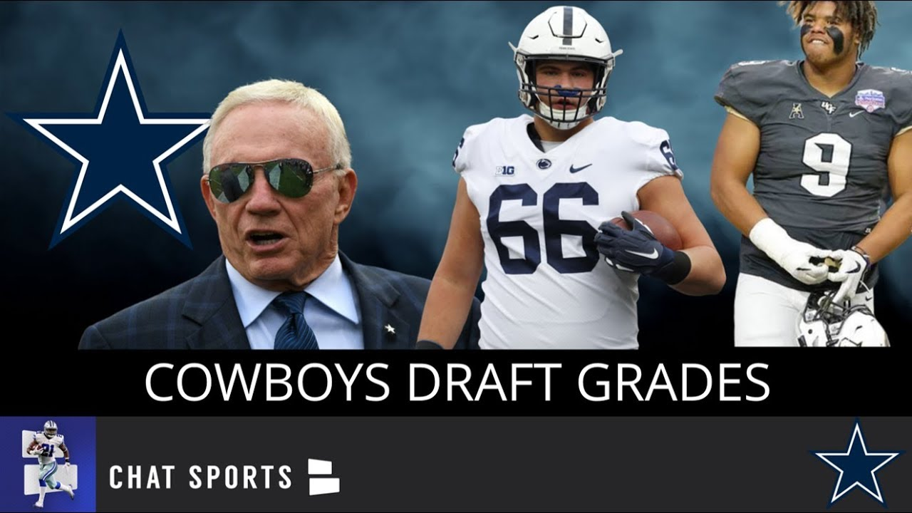 new products 47ee9 8200d Cowboys Draft Grades: All 7 Rounds From The 2019 NFL Draft Feat. Trysten  Hill & Connor McGovern