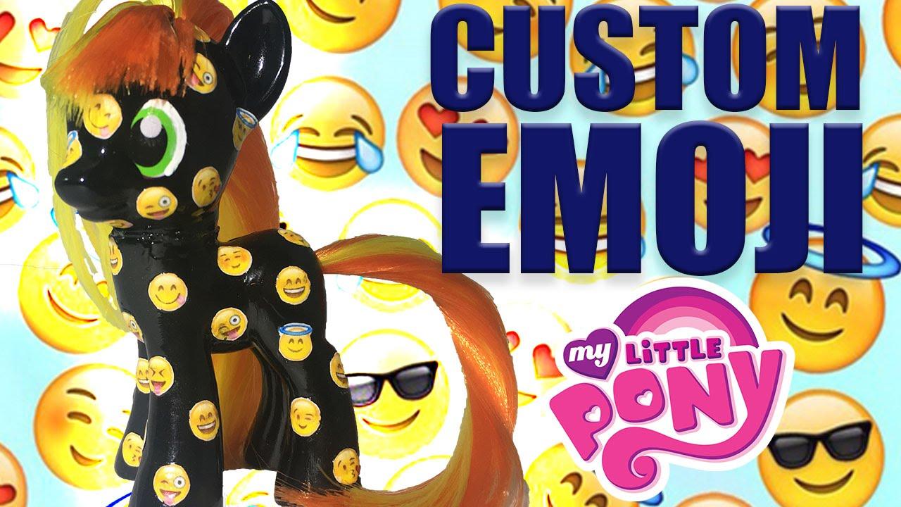 Emoji Pony Mood Jumper Fan Custom Friday 6 Custom