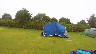 Camping at Woodlands theme park