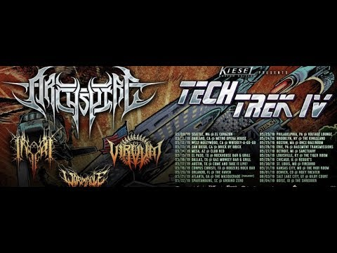 Archspire 'Tech Trek IV' tour unveiled with Inferi, Virvum and Wormhole ..!