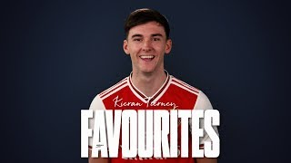 Kieran Tierney | Favourites | Thierry Henry, Scott Brown, MMA & tracksuits...