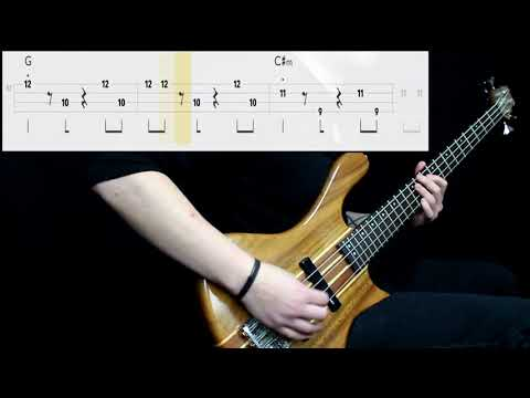A-Ha - Take On Me (Bass Cover) (Play Along Tabs In Video)