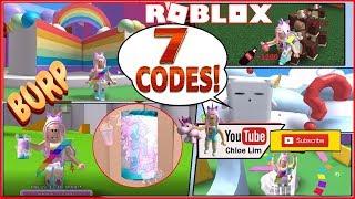 🌴 Roblox Soda Drinking Simulator! Jungle Update! 7 NEW CODES! MONKEYS & UNICORN SODA! LOUD WARNING!