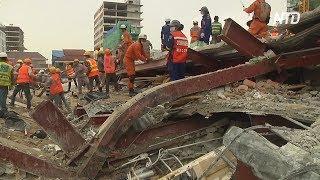 В Камбодже обрушилось строящееся здание, жертв уже 24