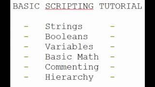 ROBLOX Lua - Esercitazione di base sugli script #1