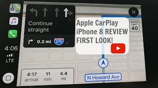 Apple CarPlay iOS 11 REVIEW FIRST LOOK!