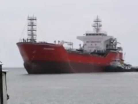 Chemical Tanker Rubber Airbag Ship Launching by MAX