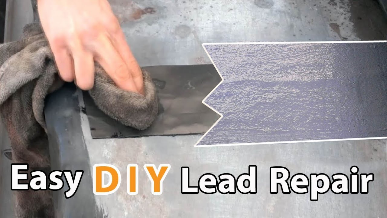 Lead And Flat Roof Repair Stop Flat Roof Leaks Youtube