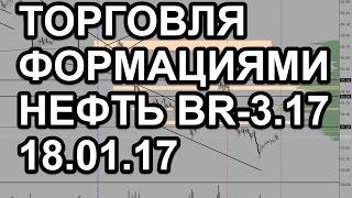 18.01.17 торговля фьючерсом на нефть марки брент br-3.17
