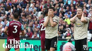 'We hope for better' says Solskjær after Manchester United lose 2-0 to West Ham