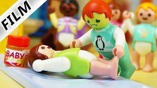 Playmobil Film deutsch | EMMA MUSS WINDELN WECHSELN - Kind als Erzieherin | Kinderfilm Familie Vogel