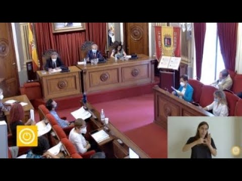 Pleno Ordinario de Mayo 2021 Ayuntamiento de Badajoz