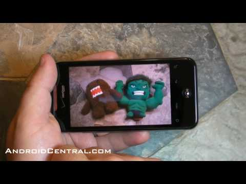 Droid Incredible multitouch test