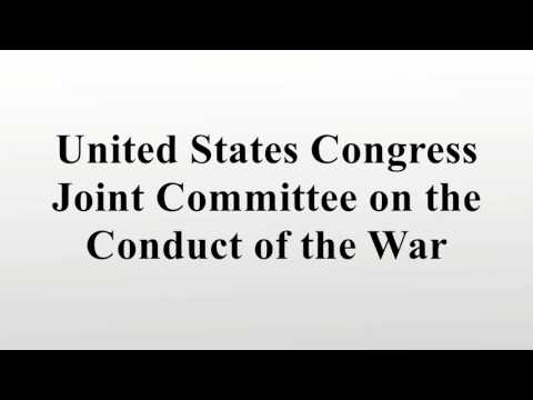 United States Congress Joint Committee on the Conduct of the War
