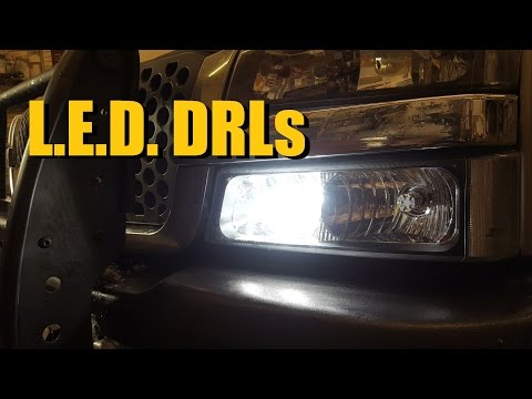 DRL L.E.D. Replacement Bulbs (Day Time Running Lights) | AnthonyJ350