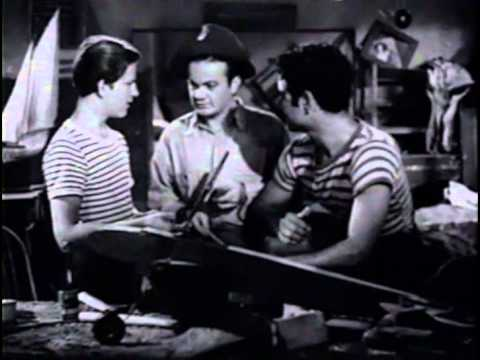'NEATH BROOKLYN BRIDGE (1942) -- Leo Gorcey, Huntz Hall, East Side Kids, Dave O'Brien