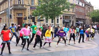 An Indian Summer - Flash Mob - Leicester