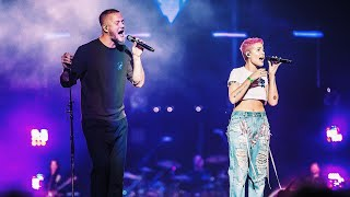 "Imagine Dragons - ""Demons"" ft Halsey Live (WELCOME! 2017)"