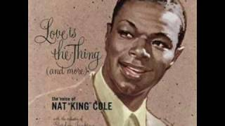 Watch Nat King Cole Because Of Rain video