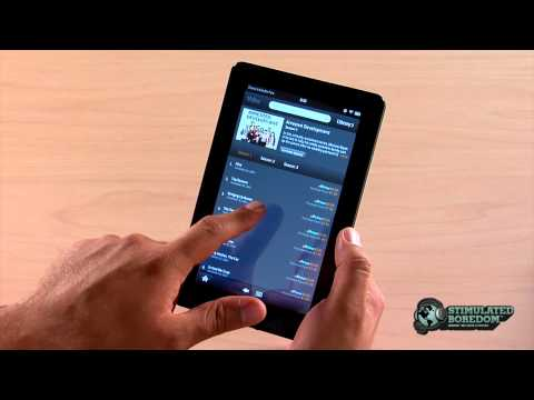 Amazon Kindle Fire Review   Part 3 of 4