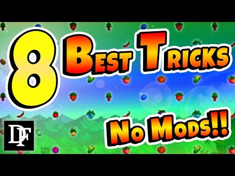 The 8 BEST Tricks You Can Do Right Now! - Stardew Valley