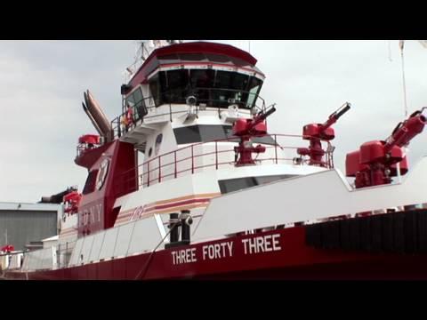 FDNY's new $27 million boat