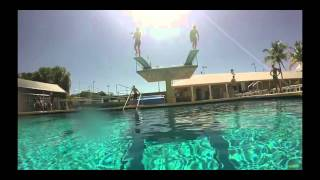 Coral SHores High School swim team 2016 recruiting video