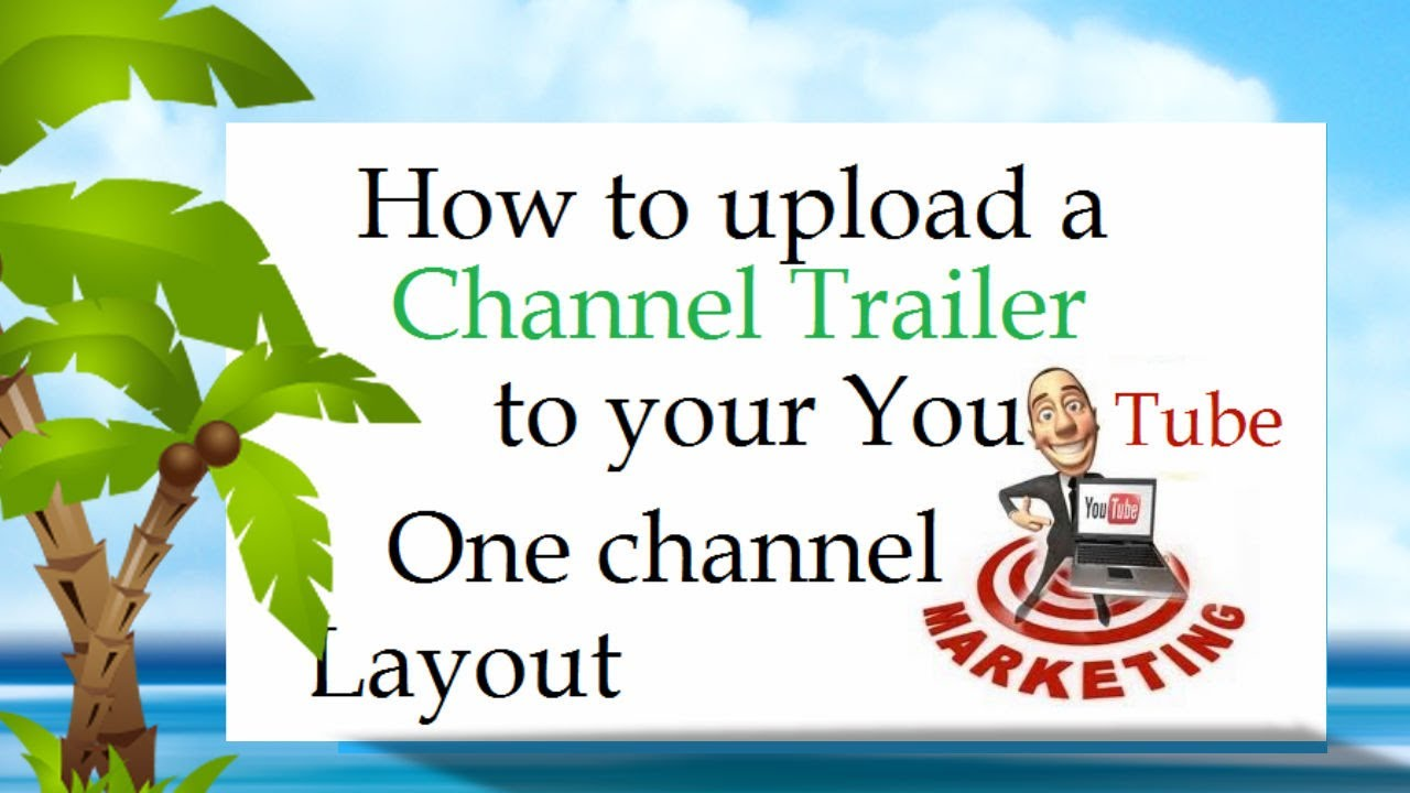 how to upload picture on youtube channel