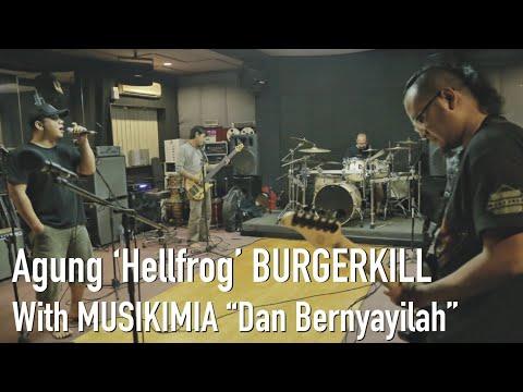 """DAN BERNYANYILAH"" AGUNG 'HELLFROG' BURGERKILL REHEARSAL WITH MUSIKIMIA.."