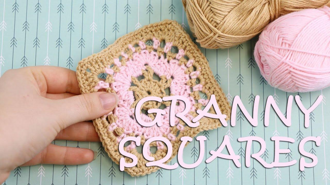 Granny Squares Muster #5 - Häkelanleitung - Talu.de - YouTube