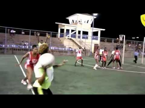 Grenada's Inter Sector Netball 2016 - Ministries Combined vs Small Business