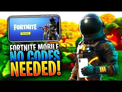 How To Play FORTNITE MOBILE APP Without An Invite Code! - 100% Legit! (Fortnite Battle Royale)
