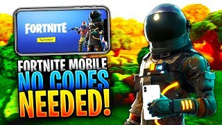 Comment jouer FORTNITE MOBILE APP sans un code d'invitation! - 100% Legit! (Fortnite Battle Royale)